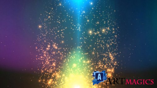 Colorful Sparkling Flares