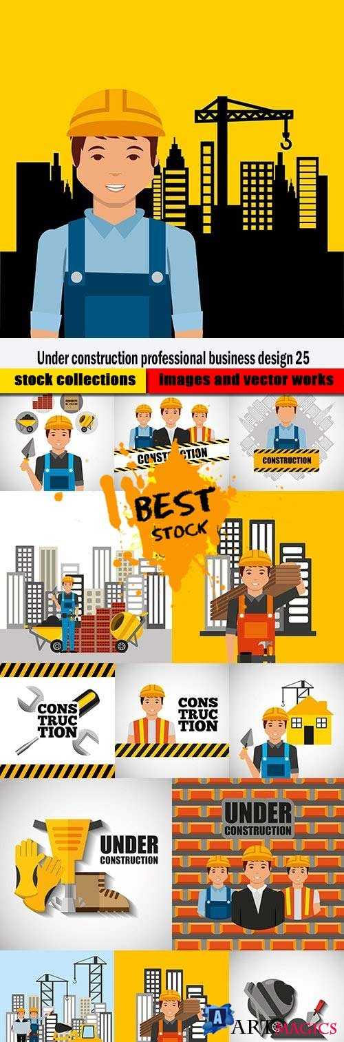 Under construction professional business design 25