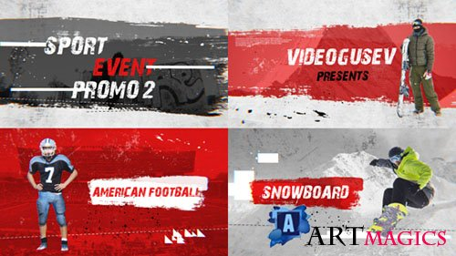 Sport Event Promo 2 - Project for After Effects (Videohive)