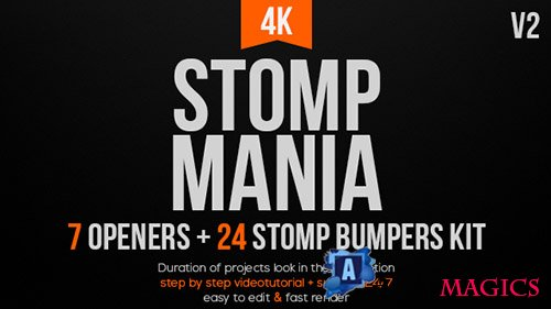 Stomp Mania V2 - Project for After Effects (Videohive)