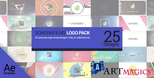 Sonorafilms Logo Pack - Project for After Effects (Videohive)