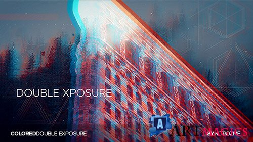 Colored Dual Exposure - Project for After Effects (Videohive)