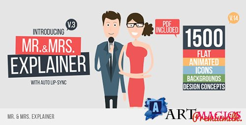 Mr&Mrs Explainer v15 - Project for After Effects (Videohive)