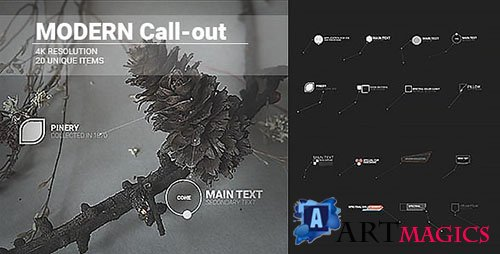 Modern Call-Outs 19600715 - Project for After Effects (Videohive)