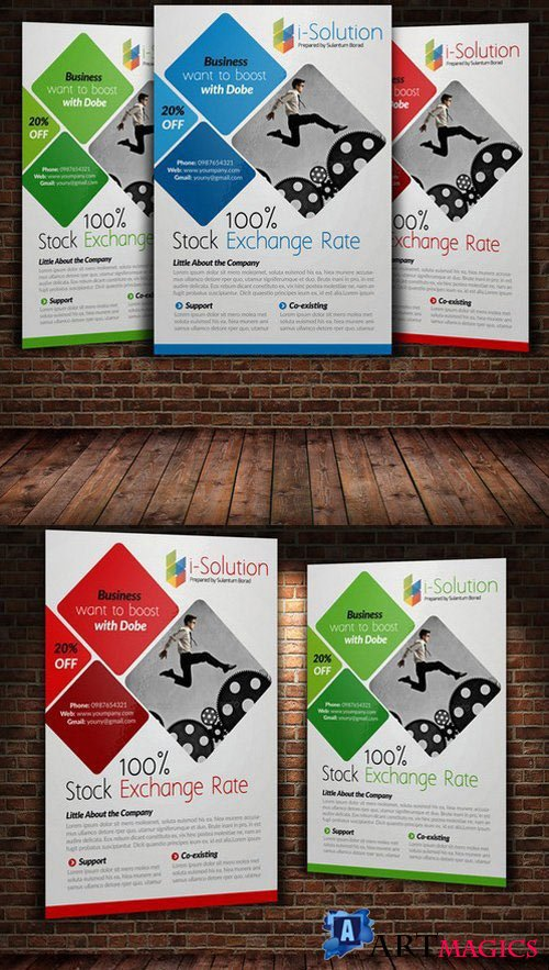Business Flyer Template 21992