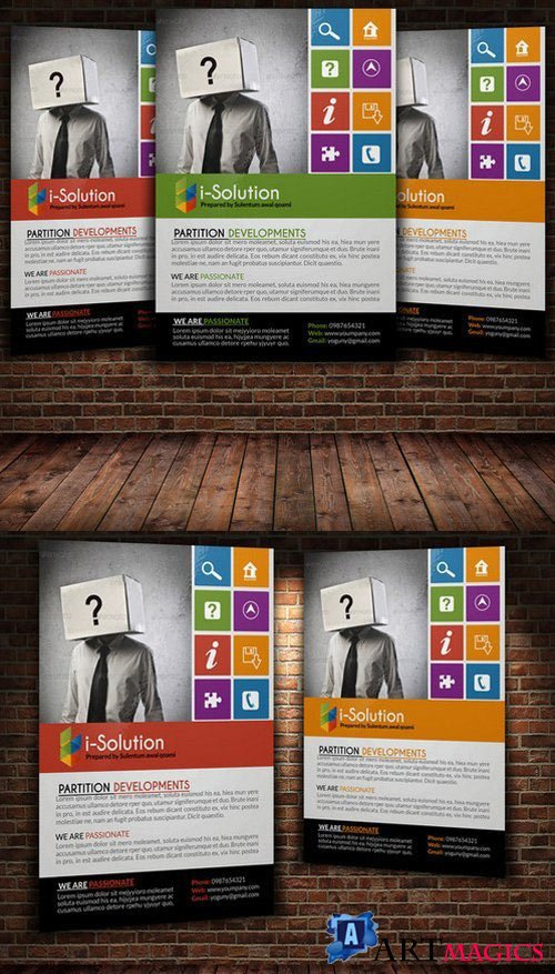 Creative Business Flyer Template 22354