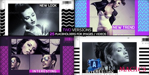 Fashion Slider - Project for After Effects (Videohive)