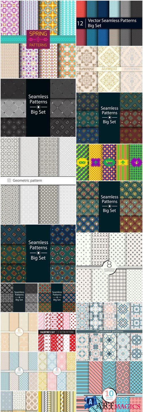 Seamless Pattern Collection #139 - 20 Vector