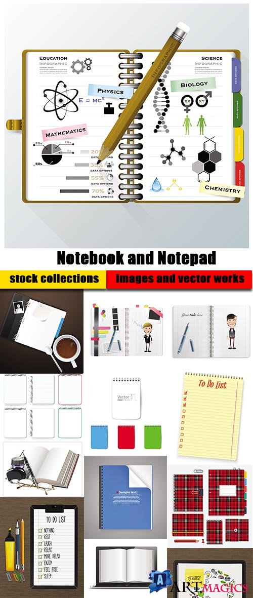 Notebook and Notepad
