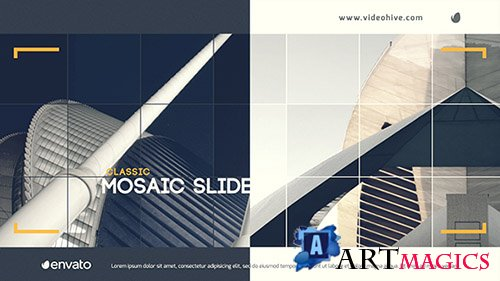 Classic Mosaic Slide - Project for After Effects (Videohive)