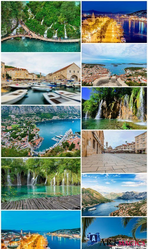 Vacation in Croatia - 30xUHQ JPEG Photo Stock