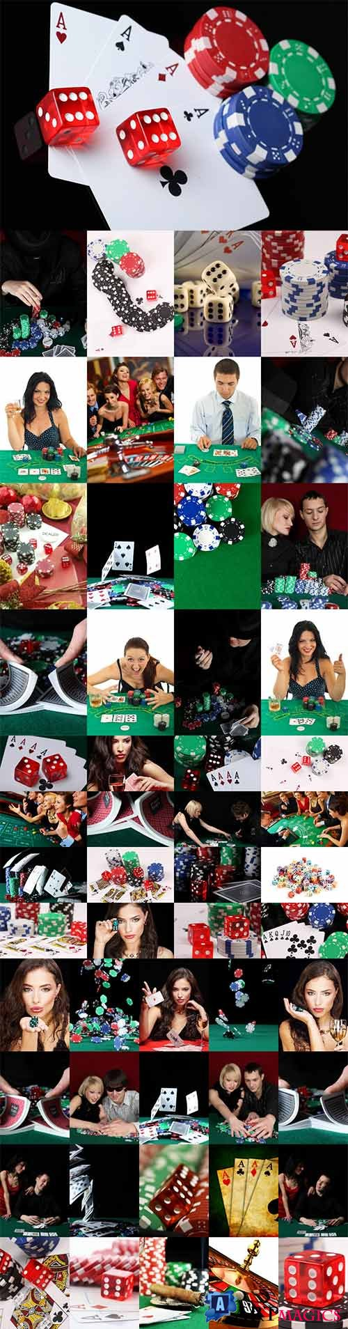Casino stock photos