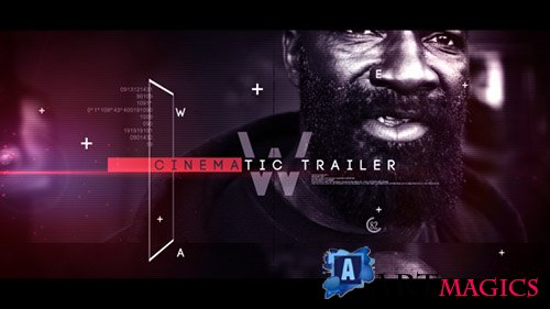 Cinematic Trailer 20648253 - Project for After Effects (Videohive)