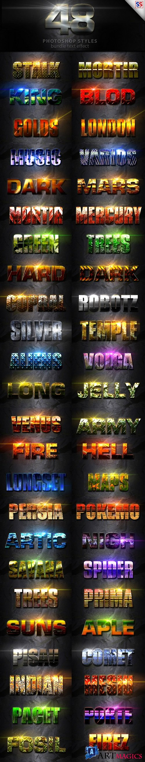 48 Text Effect Bundle Vol 2 - 20002530