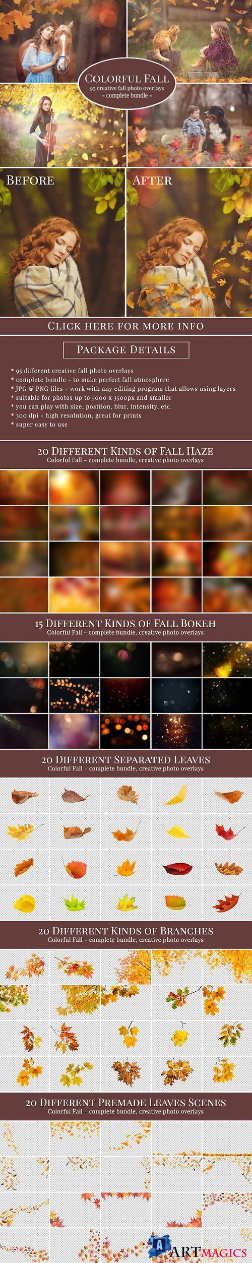Colorful Fall Photo Overlays 1831250