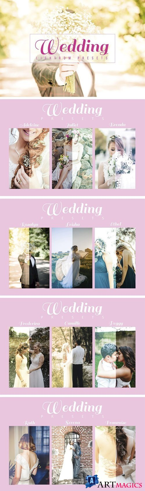 Wedding Lightroom Presets 1884034