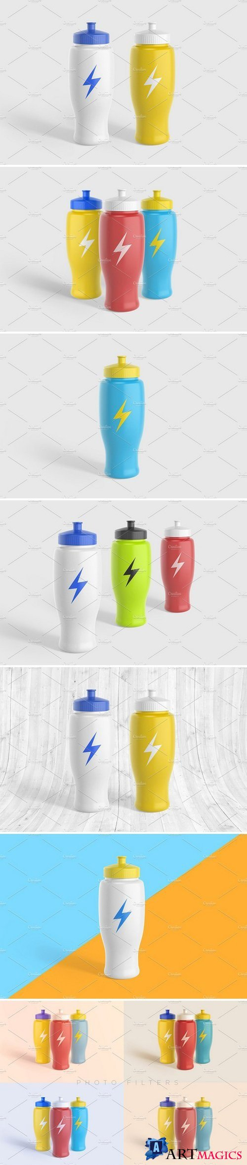 Sport Water Bottle V2 Mock-Up 1851512
