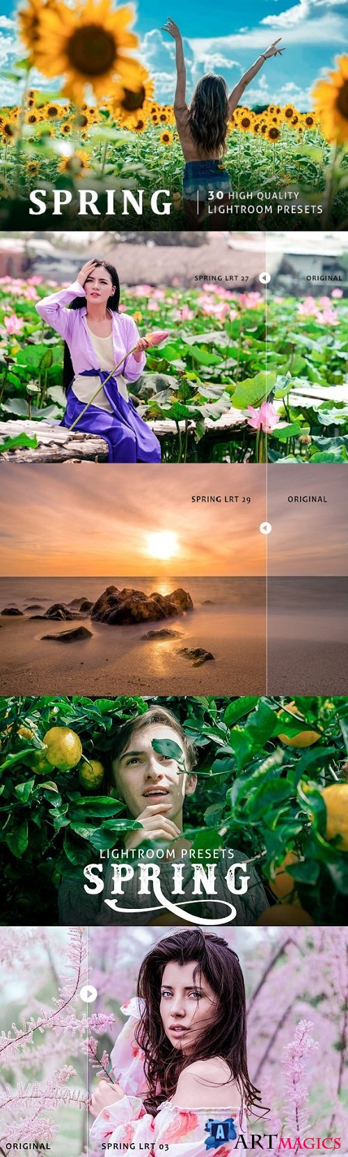Spring Lightroom Presets 1967652