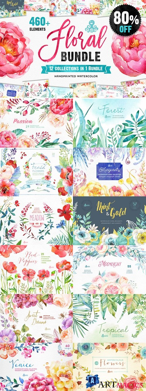 The Floral Bundle 12in1 - 782962