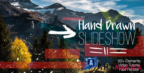 Hand Drawn Slideshow 12204136 - Project for After Effects (Videohive)