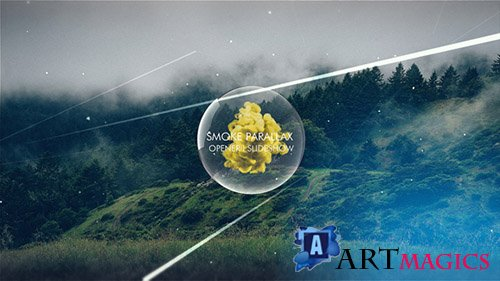 Smoke Parallax Opener I Slideshow - Project for After Effects (Videohive)