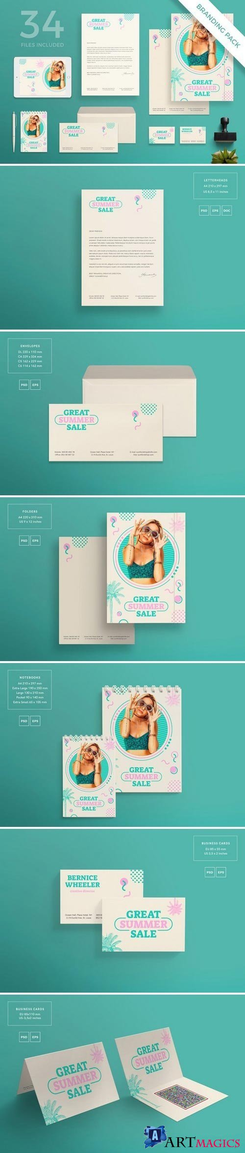 Branding Pack | Great Summer Sale 1613150