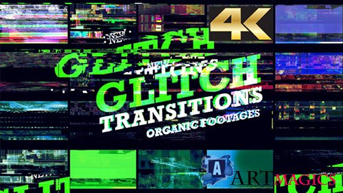 Glitch Transition 4K - Motion Graphics (Videohive)