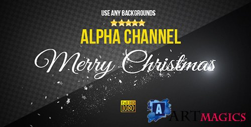 Christmas Text - Motion Graphic (Videohive)