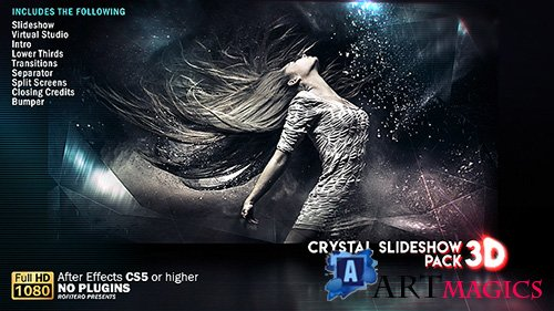 Crystal Slideshow Pack 3D - Project for After Effects (Videohive)