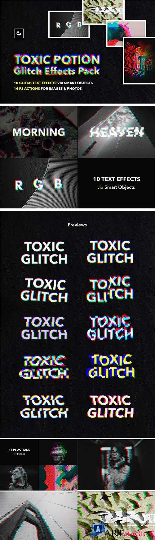 Toxic Potion Glitch Effects Pack 2053566