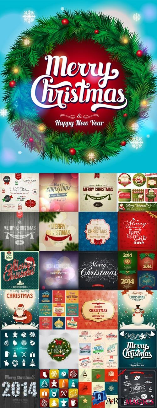 Christmas Design Elements #2, 25xEPS