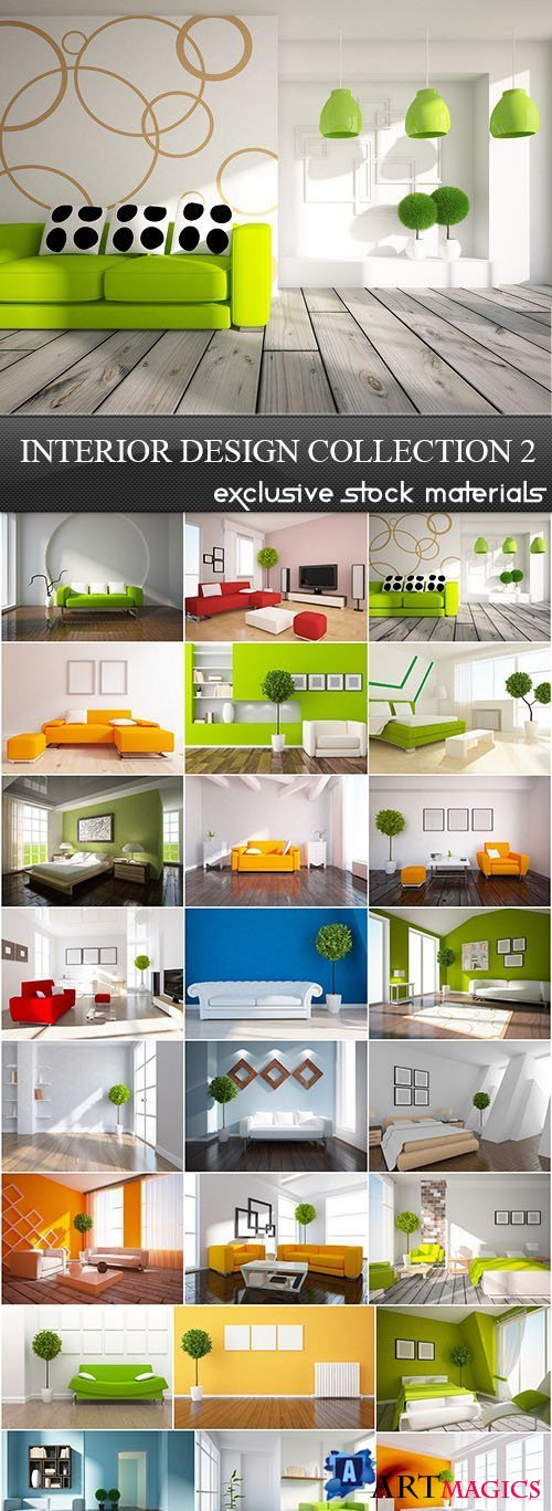 Interior Design Collection 2, 25xJPG