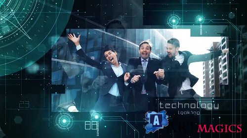 Technology Presentation 52513 - After Effects Templates