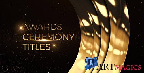 Awards Ceremony Titles - Project for After Effects (Videohive)
