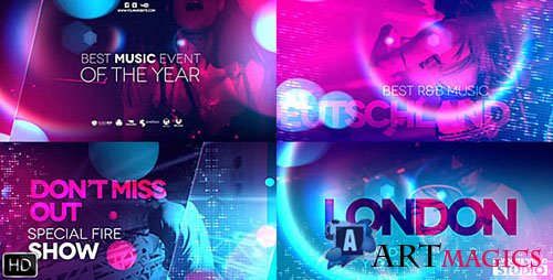 Ultraviolet Music Party - Project for After Effects (Videohive)