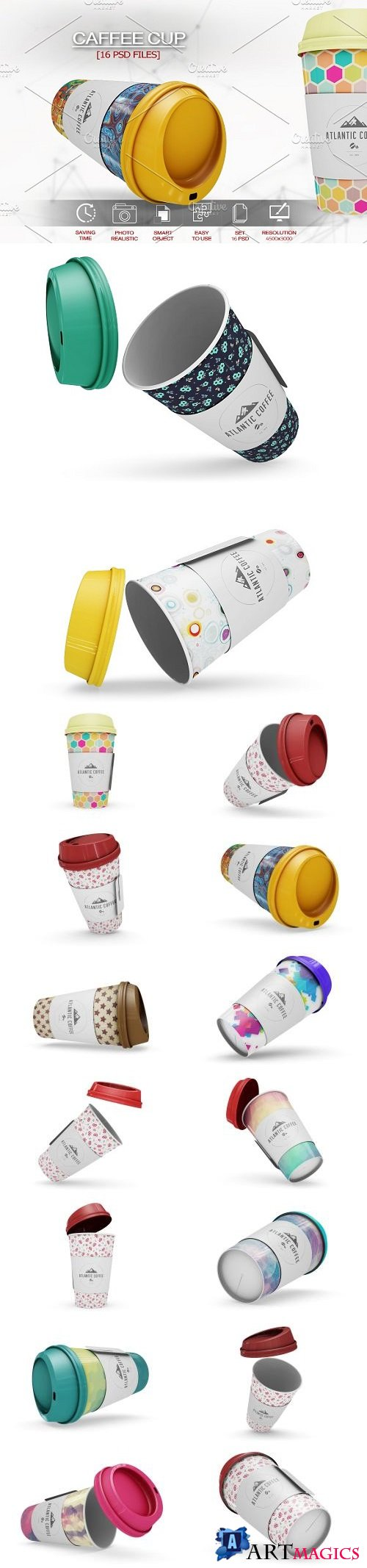 Coffee Cup Vol1 Mockup - 2108301