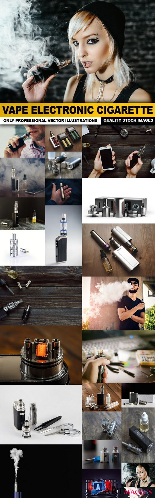Vape Electronic Cigarette - 25 HQ Images