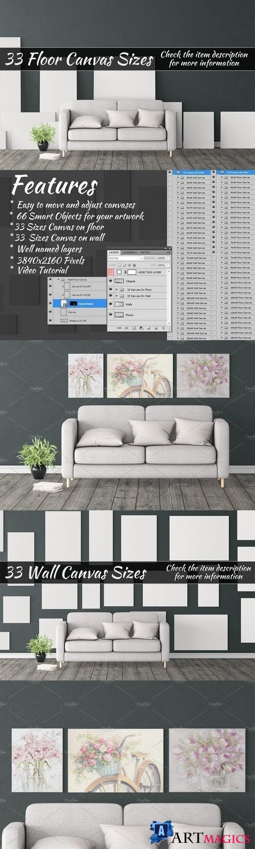 Canvas Mockups Vol 388 - 1405617