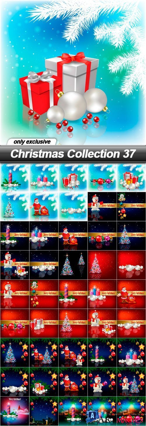 Christmas Collection 37 - 50 EPS