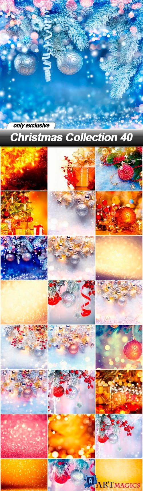Christmas Collection 40 - 25 UHQ JPEG