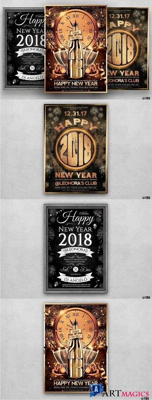 New Year Flyer Bundle - 948495