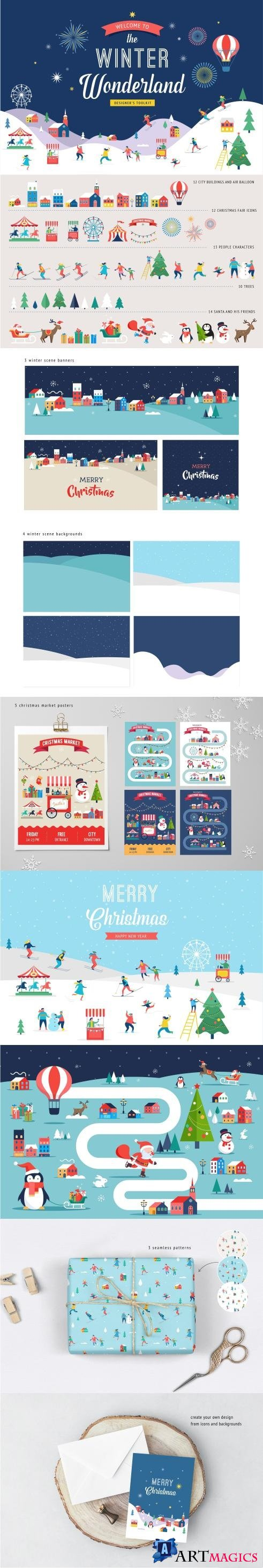 Winter Wonderland Designer's Toolkit - 2066736