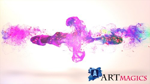 Colorful Particle Logo - After Effects Templates
