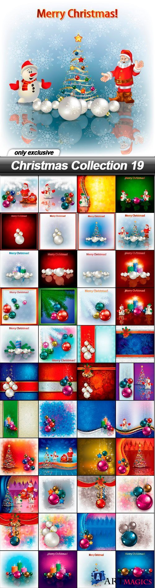 Christmas Collection 19 - 48 EPS
