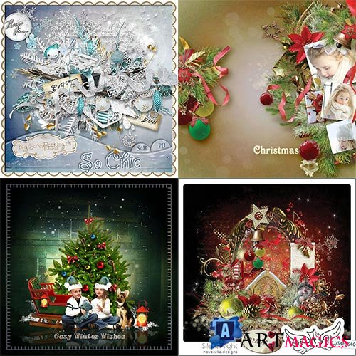 Scrap set - Snowy Dreams / So chic / Silent Night