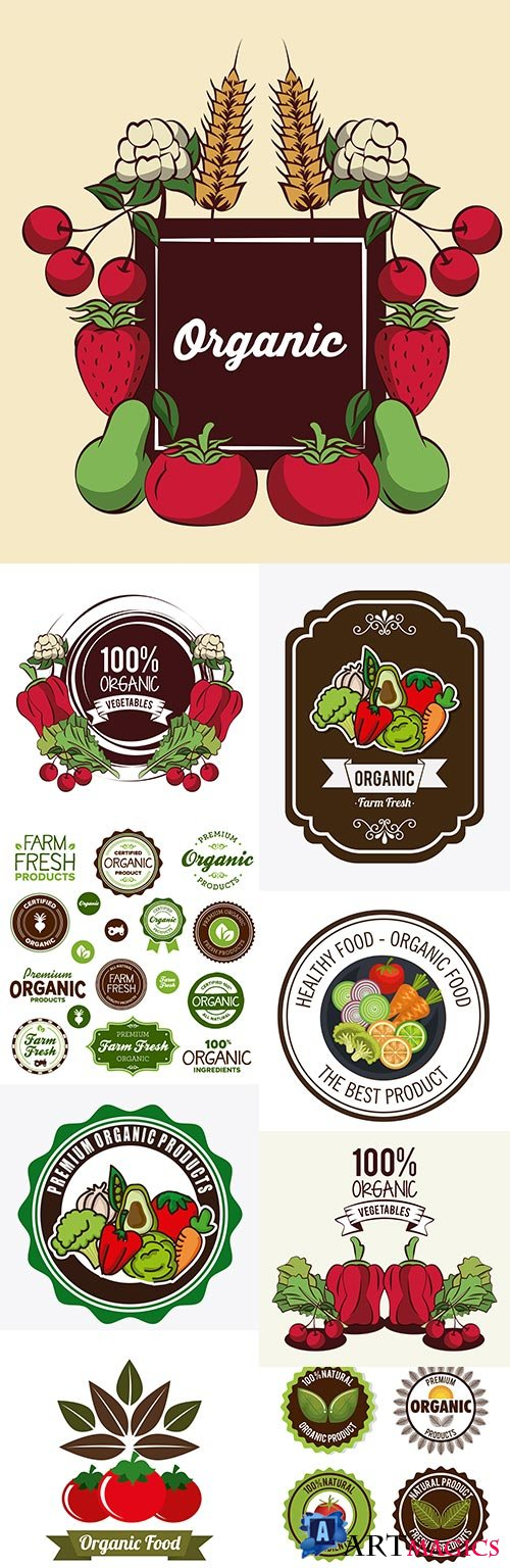 Natural ecological products 100% quality label