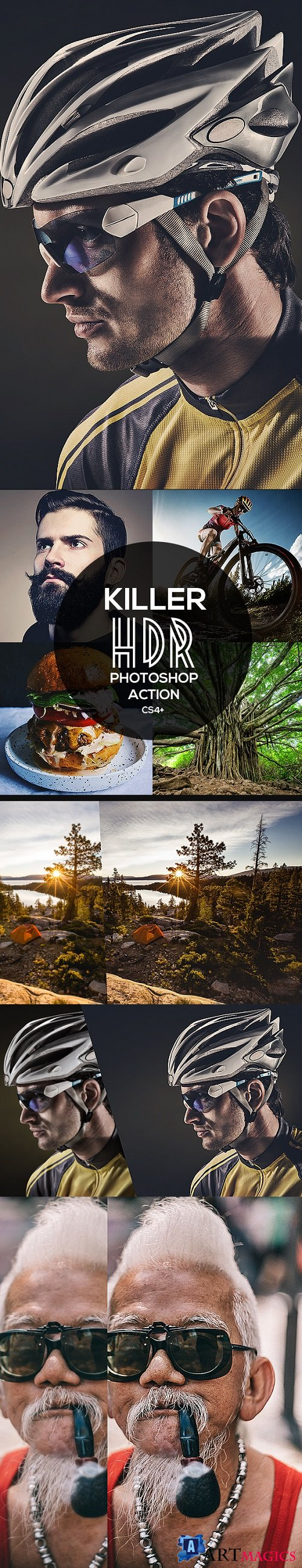 20 HDR Killer Photoshop Action 21199052