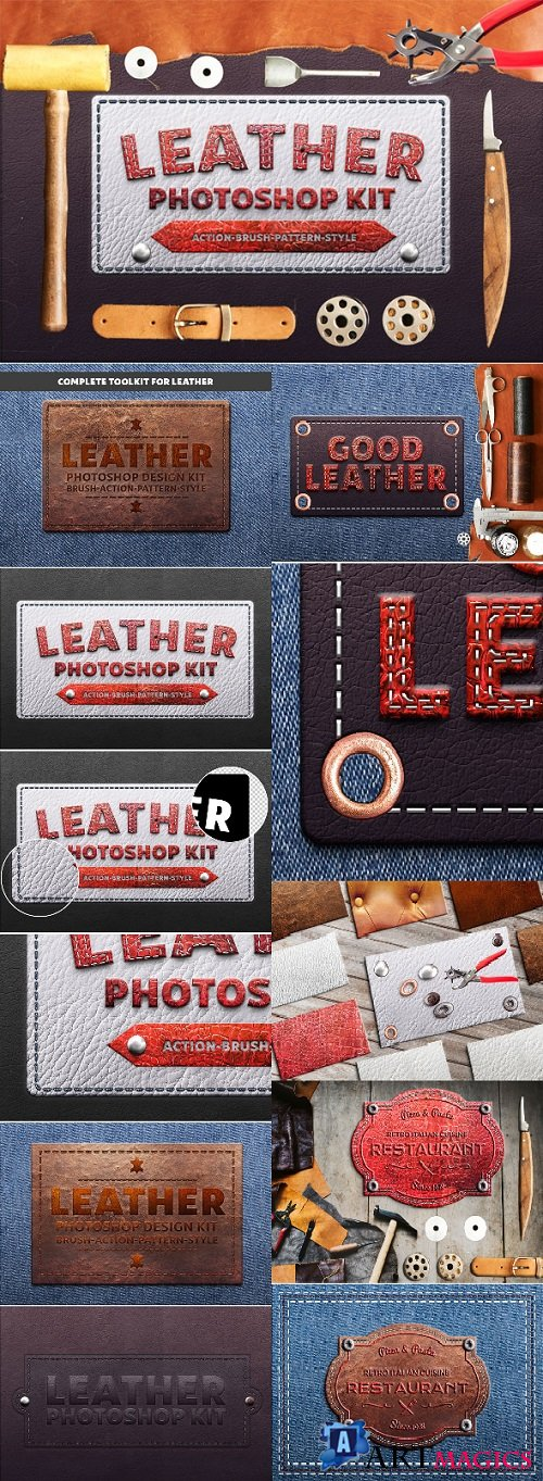 Photoshop Leather Kit 21241350