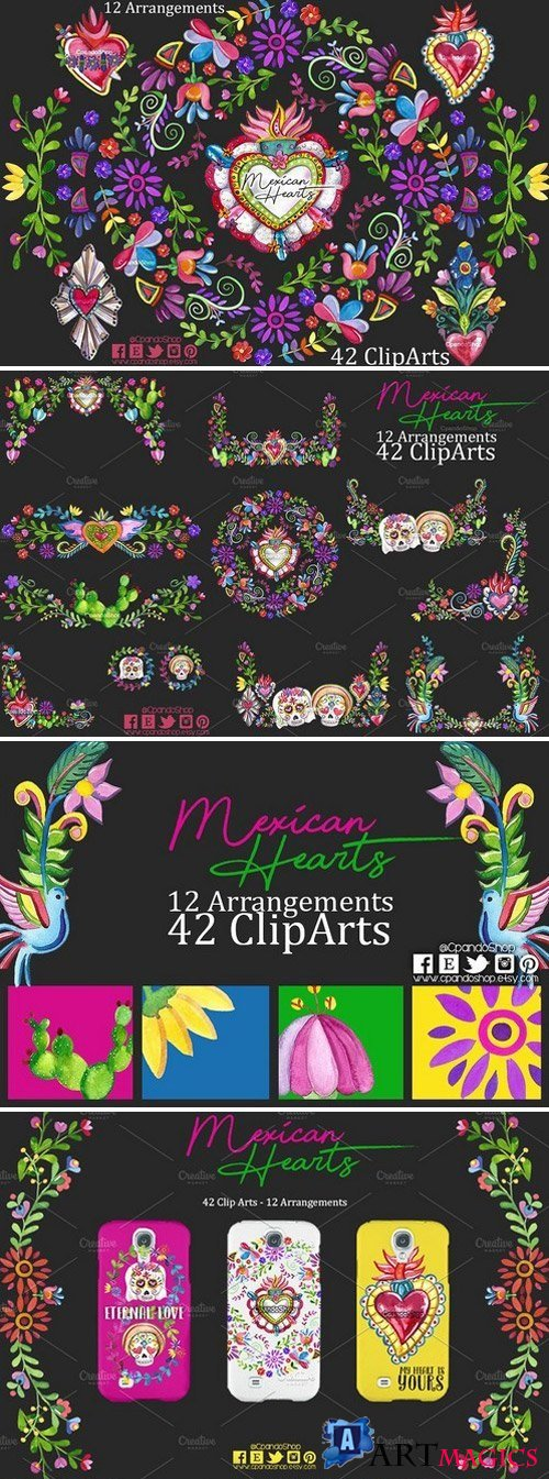 Mexican Hearts - Mexican Valentines 2167599