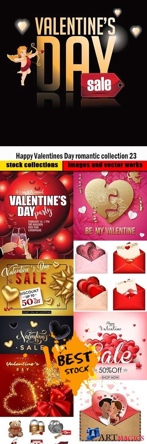 Happy Valentines Day romantic collection 23